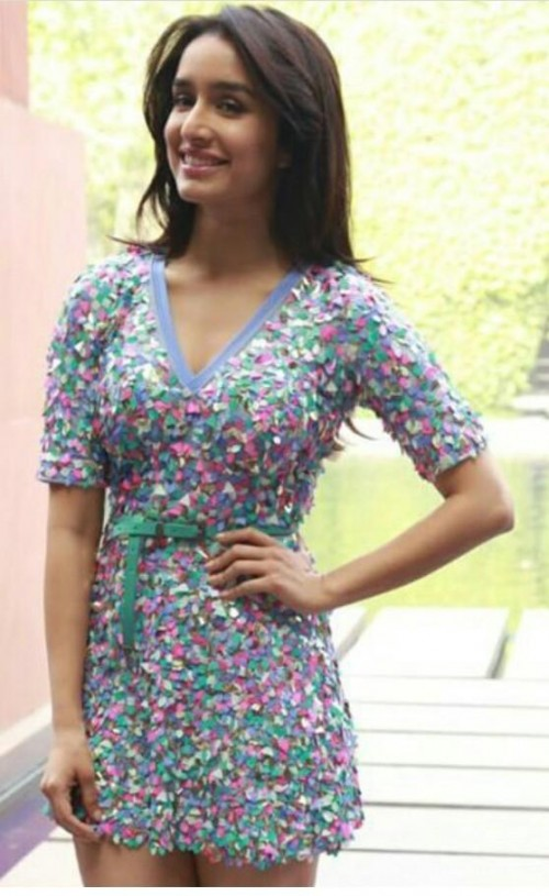 Looking for this multicolor dress that Shraddha Kapoor is wearing. - SeenIt