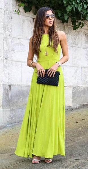 Find me a similar green maxi dress. - SeenIt