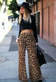 Help me find this leopard print palazzo pants - SeenIt