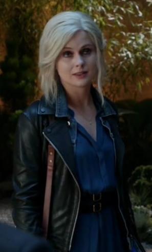 Liv Moore's black leather jacket please - SeenIt