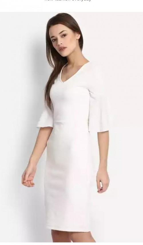 White dress with similar fit - SeenIt
