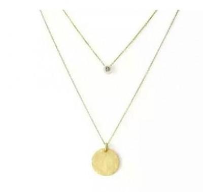Similar dainty necklace that Rachel Zane is wearing in Suits - SeenIt
