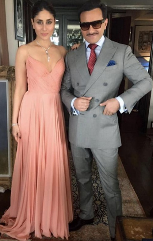 Looking for a blush maxi dress that Kareena Kapoor is wearing in this picture - SeenIt