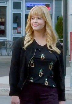 Alison's black short jacket please from the finale - SeenIt