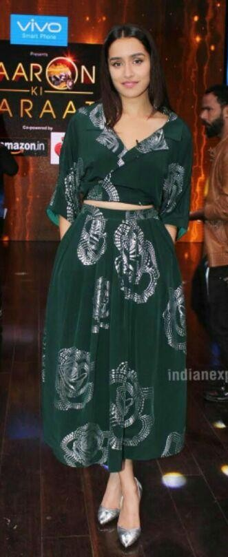 Want these green coords which Shraddha Kapoor is wearing - SeenIt