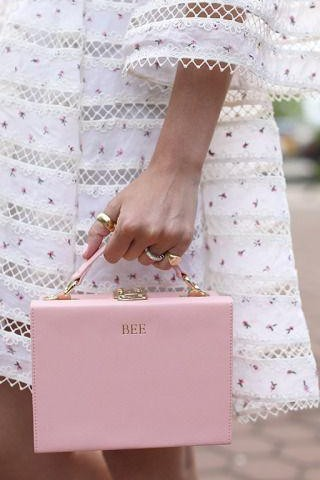 Help me find this pastel pink clutch. - SeenIt