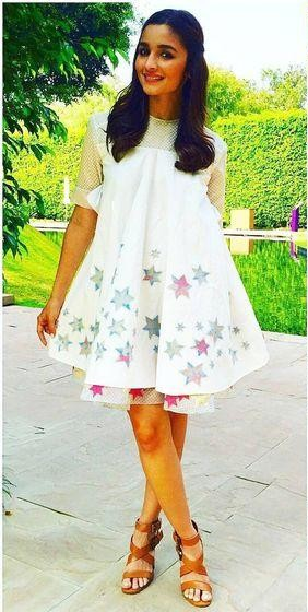 Want this white dress which Alia Bhatt is wearing - SeenIt