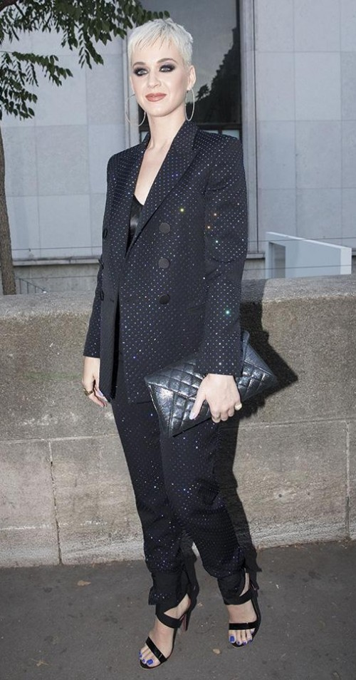 Yay or Nay? Katy Perry attends the Chanel fragrance launch party during the Paris Fashion week - SeenIt