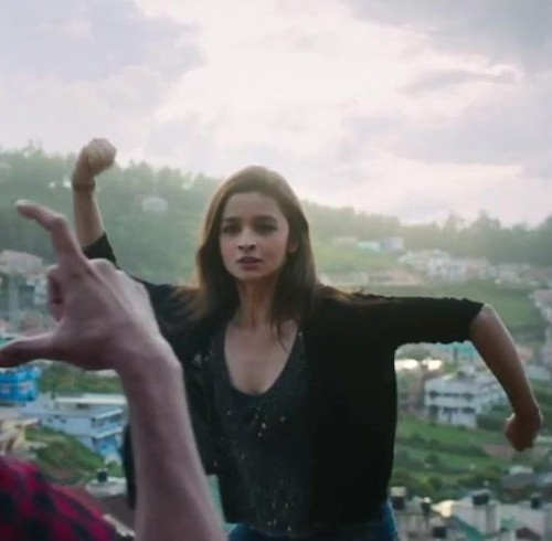 Want a similar black jacket and top like the one which Alia Bhatt is wearing in kapoor and sons - SeenIt