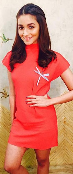 Looking for this white,non-embellished dragonfly brooch Alia is wearing.Want the SAME.someone pls help.tia. - SeenIt