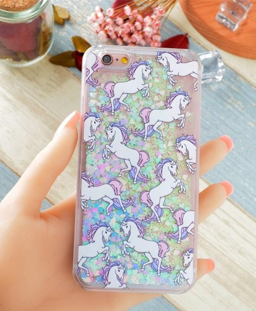 I am looking for this unicorn print glitter iphone cover help me? - SeenIt