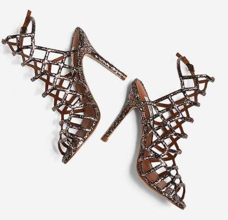 Want these strappy heels shoes - SeenIt