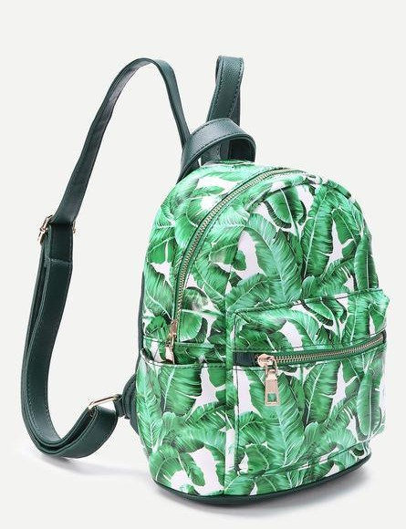 tropical print backpack,similar like this one. - SeenIt