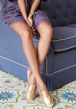 I am looking for theses copper espadrilles,help me? - SeenIt