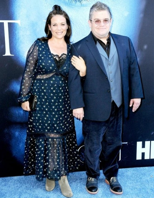 Yay or Nay? Meredith Salenger and Patton Oswalt attend the GOT premiere held in Los Angeles - SeenIt