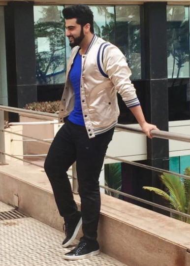 Blue blazer black jeans