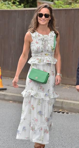 Yay or Nay? Pippa Middleton seen arriving for day thirteen at The Championships at Wimbledon on July 16, 2017 in London, England. - SeenIt