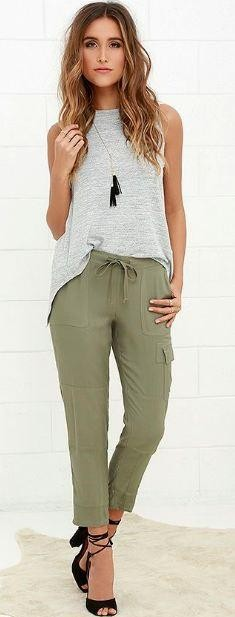 Hi People, I have a olive green joggers. Looking for a similar top/upper wear in gray or white to complement the joggers.... awaiting your help... <3 - SeenIt