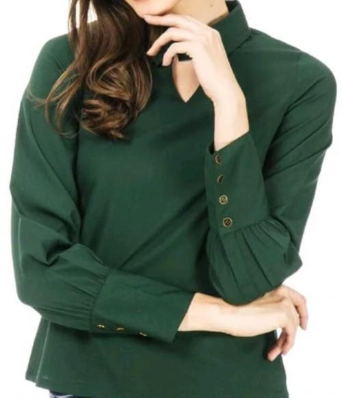 I' am looking similar dark green top - SeenIt