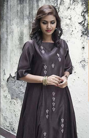 I am looking for this brown embroidered kurta - SeenIt
