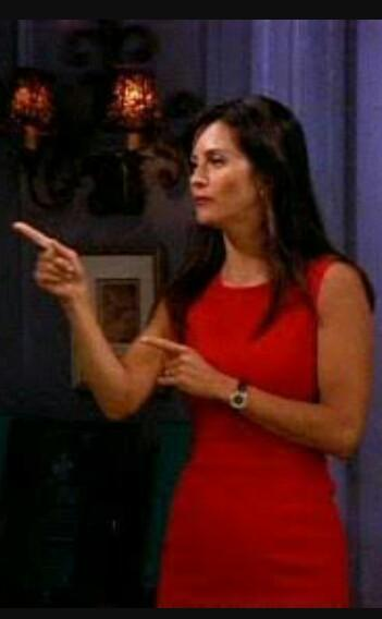 I'm looking for a dress very much like the dress Monica from friends is wearing - SeenIt