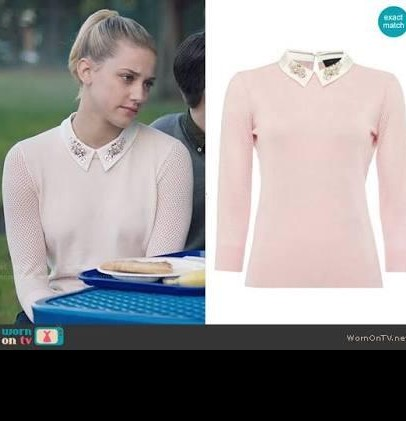 The top which Betty Cooper is wearing in riverdale - SeenIt