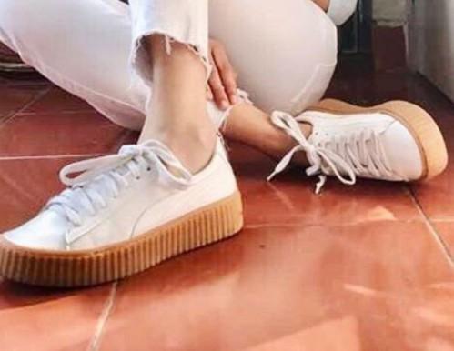 Similar white shoes - SeenIt
