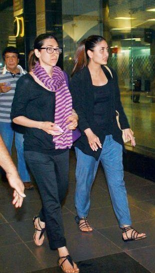 Looking for the black flats which Karishma Kapoor and Kareena Kapoor are wearing - SeenIt