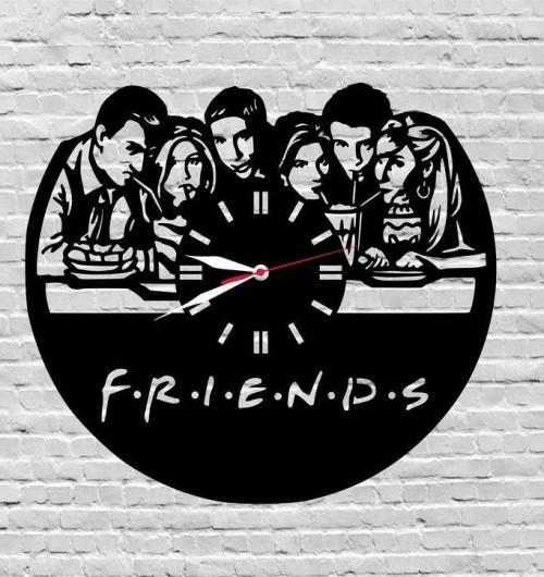 Please help me find similar friends wall clock? - SeenIt
