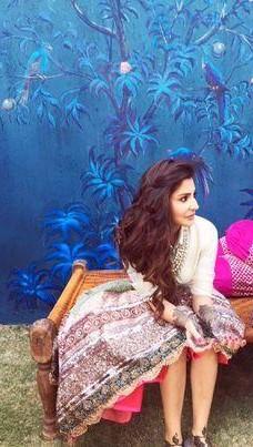 Want a similar pink maxi skirt like the one which Anushka Sharma is wearing in Ae Dil Hai Mushkil - SeenIt
