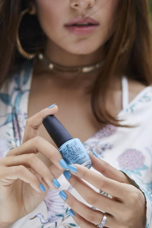Looking for this babyblue nailpolish as seen in house of misu - SeenIt