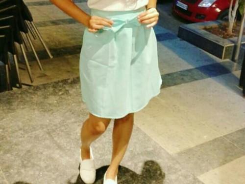 something similar to this mint skirt - SeenIt