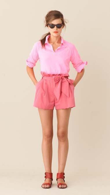 Looking for similar pink shirt and shorts - SeenIt