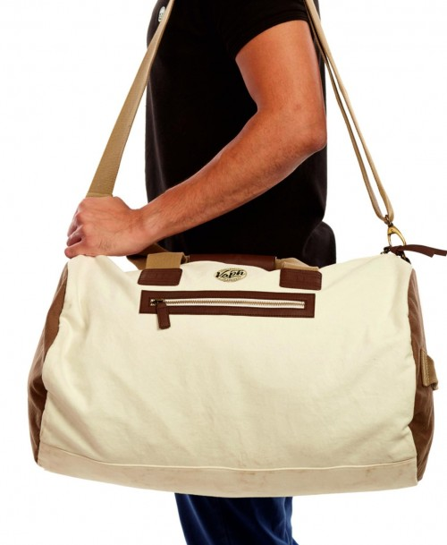 Find me this beige and khaki colour duffle bag.. - SeenIt