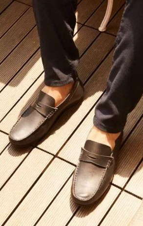 I want these grey loafers. Please help me - SeenIt