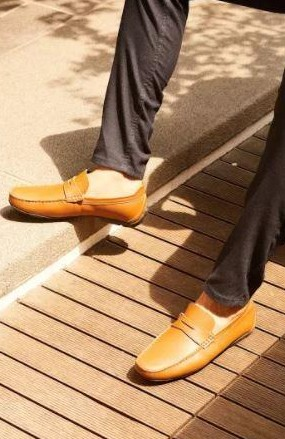 Find me these tan brown leather loafers - SeenIt