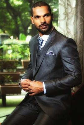 what do you think of shikhar dhawans suit look? - SeenIt