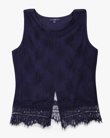 looking for same navy blue lace top - SeenIt