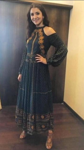 Looking for a similar maxi dress like the one which Anushka Sharma is wearing - SeenIt