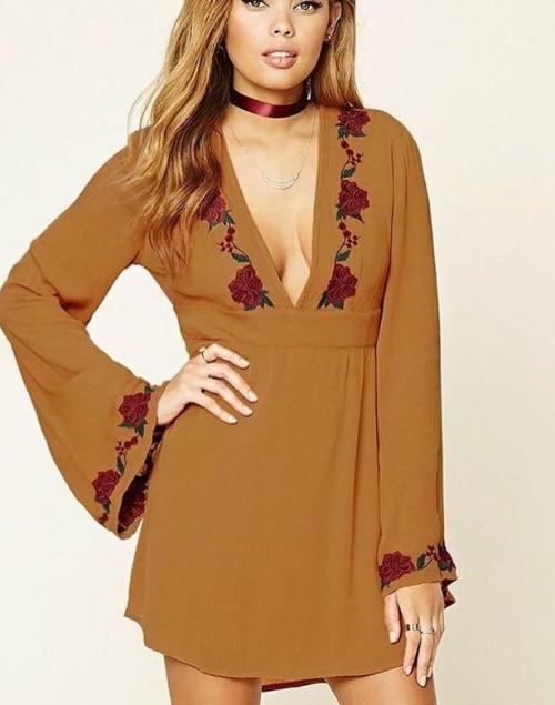 Llooking for Similar mustard dress. - SeenIt