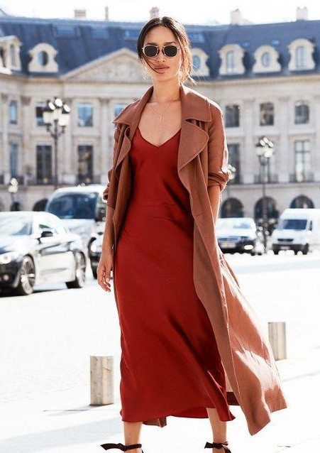 I m looking for a similar looking nude color trench coat - SeenIt