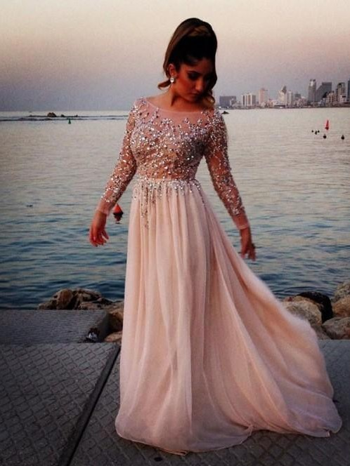 Want a similar embellished gown like the one which she's wearing - SeenIt