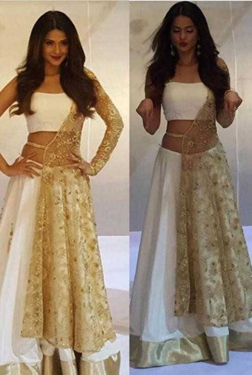I'm looking for same jacket lehenga like the one which Jennifer Winget is wearing - SeenIt