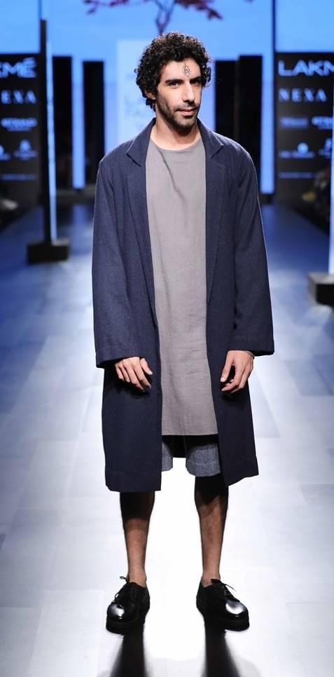 Yay or Nay? Actor, Jim Sarbh walks the ramp for Anuj Bhutani at the IMG presents Restart Fashion show at Lakme Fashion Week - SeenIt