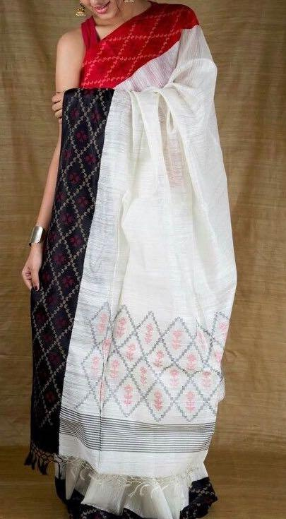 I'm looking for the same exact khadi handloom saree! - SeenIt