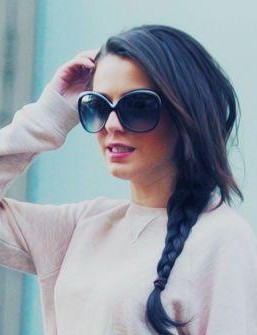 Looking for the similar oversized sunglasses that CherLloyd is wearing - SeenIt