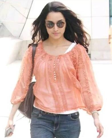 Want the pink top which Shraddha Kapoor is wearing - SeenIt