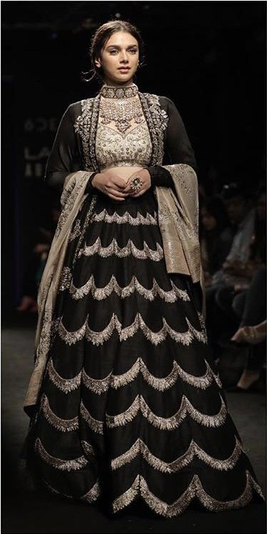 Yay or Nay? Aditi Rao Hydari walked the ramp for Jayanti Reddy label during the Lakme Fashion week , fall/winter 2017 - SeenIt