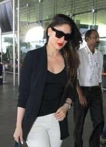 Want the black  sunglasses which Kareena Kapoor is wearing - SeenIt