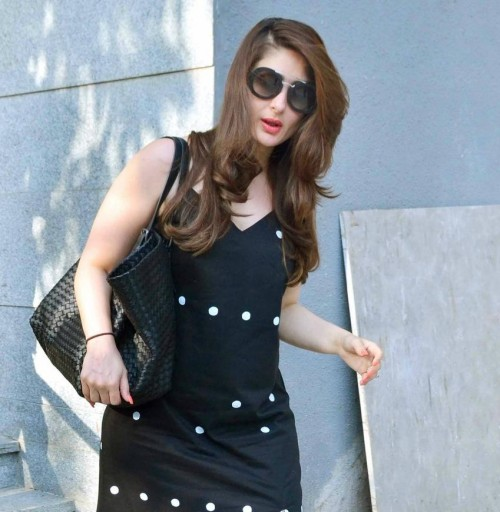 Want the black round sunglasses which Kareena Kapoor is wearing - SeenIt